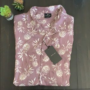Other - Men's Pineapple Casual Button Down Shirt